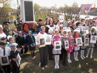 День Победы в сельских поселениях