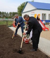 Открытие Парка отдыха в селе Денискино